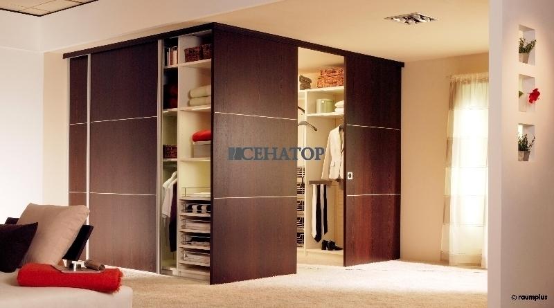 ROLER  гардеробные системы шкафыкупе межкомнатные