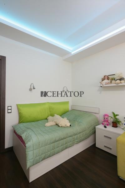 Кровать в интерьере детской комнаты