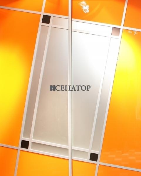 Один из вариантов оформления двери