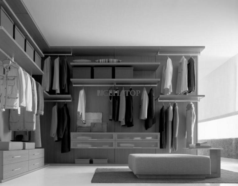 Системы хранения для гардеробных своими руками