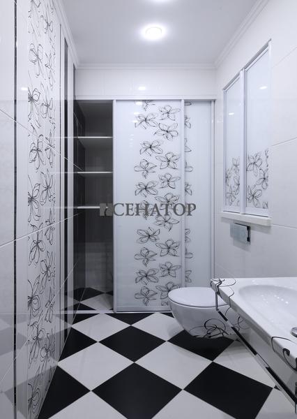 Шкаф-купе в ванной