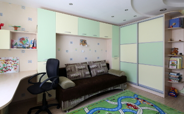 Кабинет в квартире №1