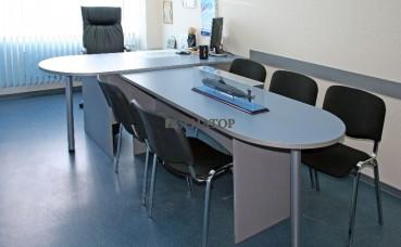 Стол руководителя с бриф-приставкой