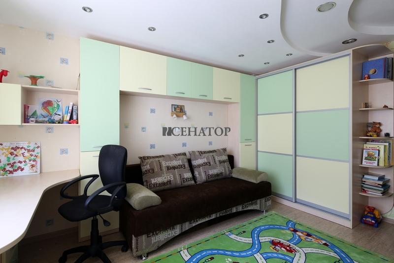 Мебель в детскую комнату в пастельных тонах