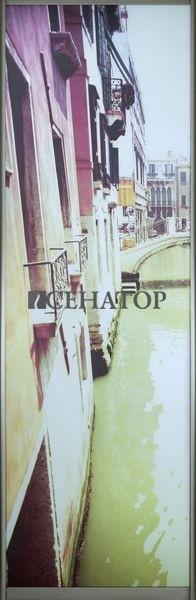 Дверь-купе «Венеция» с фотопечатью на матовом зеркале