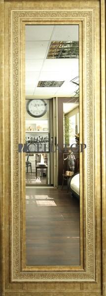 Дверь-купе «Эрмитаж»с декоративным багетом