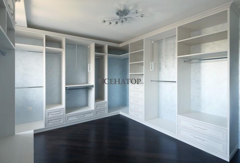 гардеробная комната в стиле «прованс»