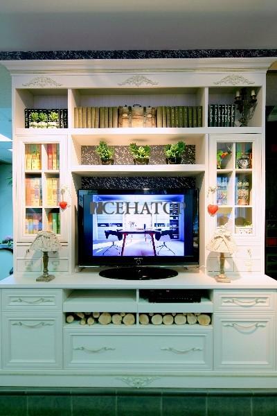 мебель для домашней библиотеки в стиле «прованс»