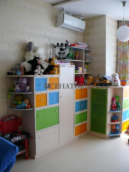 Мебельная мини-горка в детскую комнату