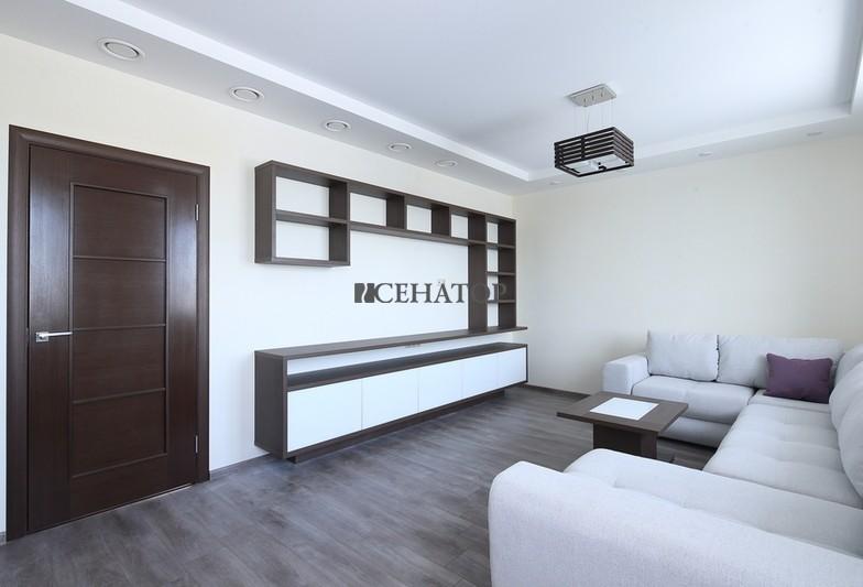 Корпусная мебель в интерьере гостиной