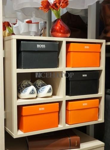 Полки в гардероб