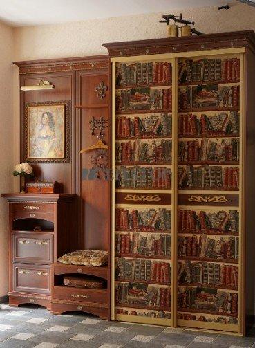 Современный шкаф-купе в современном интерьере