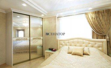 Эксклюзивный двухметровый шкаф-купе для спальни