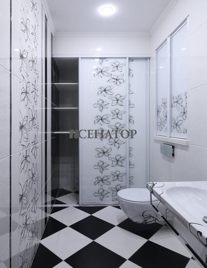 Эксклюзивный шкаф-купе в ванную комнату