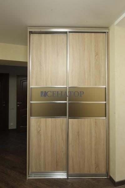 Шкаф двухдверный в профиле «Absolute»