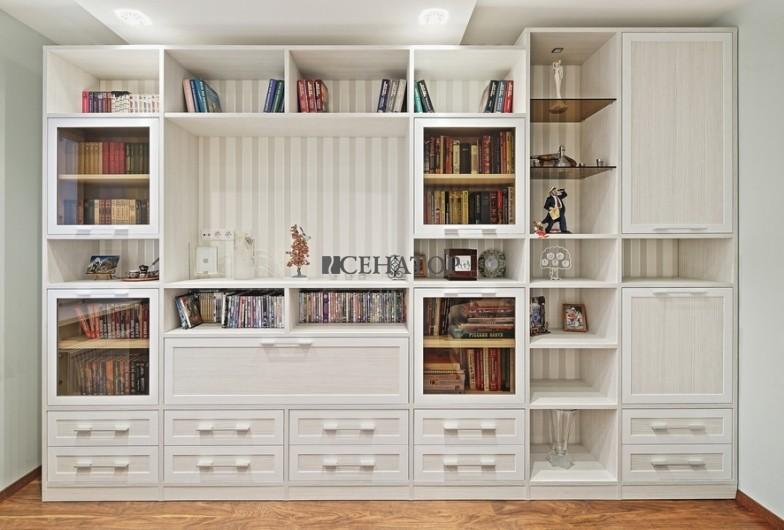 мебельная стенка в домашний кабинет
