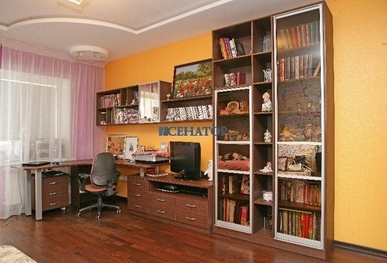 компьютерный стол и книжный шкаф для ребенка
