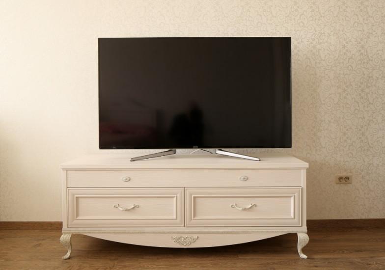 Тумба для ТВ и аппаратуры в стиле «Прованс»