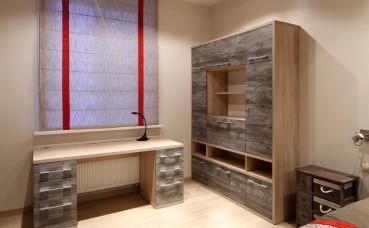 Мебель по индивидуальному проекту в домашний кабинет