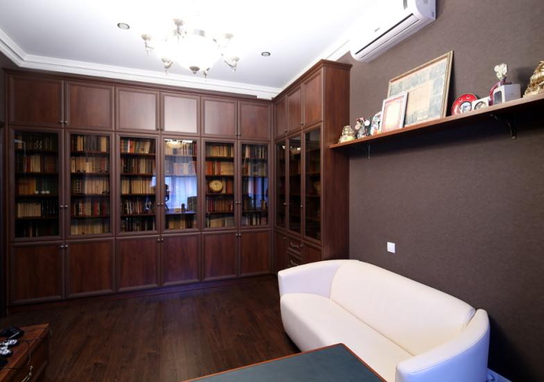 встроенная мебель для библиотеки по индивидуальному проекту