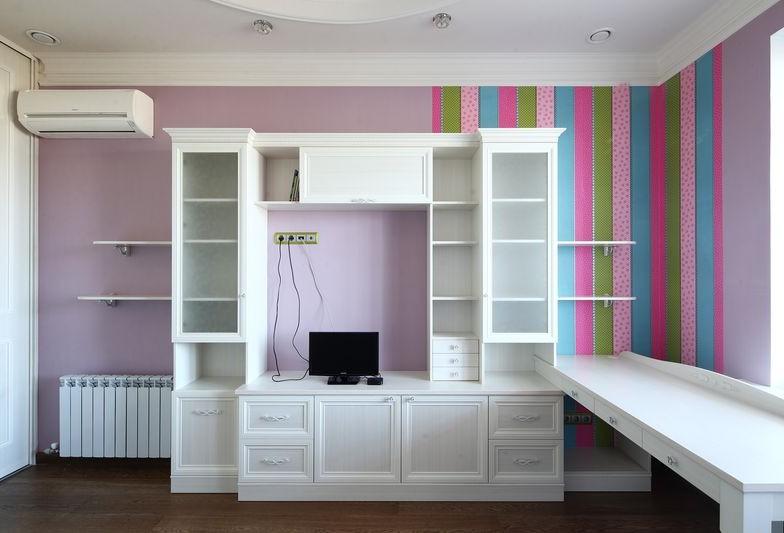 Встроенная мебель в стиле Прованс