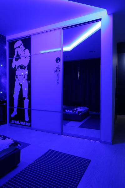 Шкаф «Звездные воины» в детскую