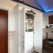 трех-створчатый отдельностоящий шкаф в ванную комнату на мансарде_1