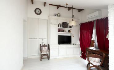 Шкаф купе и корпусная мебель в спальную комнату.Стиль «прованс».