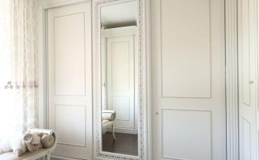 Гардеробная комната в редком стиле «Буазери»